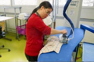 Dienstleistung Wäscherei & Textilreinigung